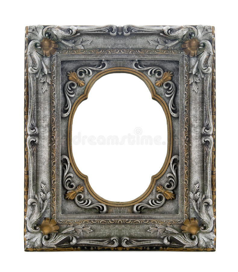 Frame ornamentado imagens de stock royalty free