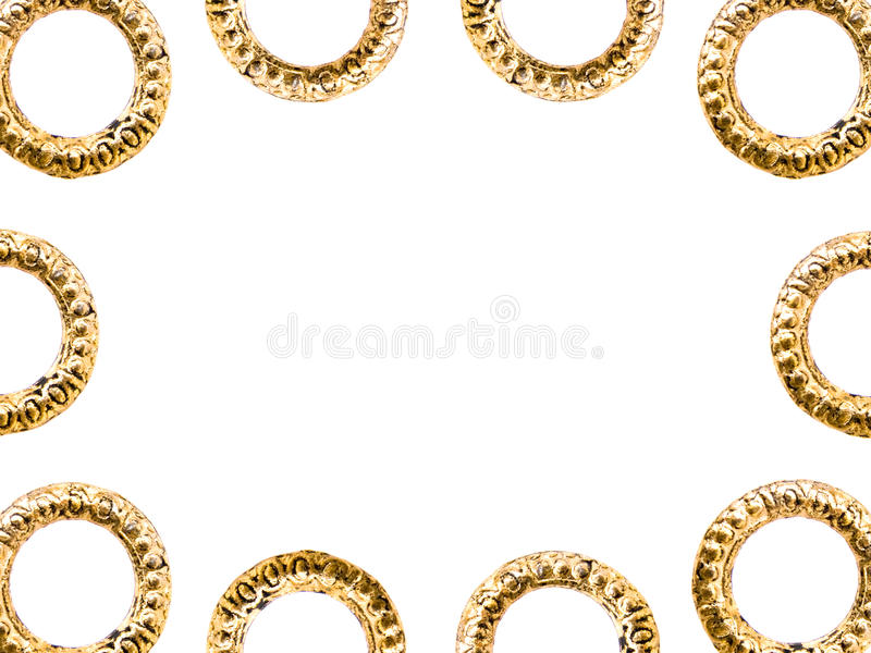 Frame of the ornaments royalty free stock photo
