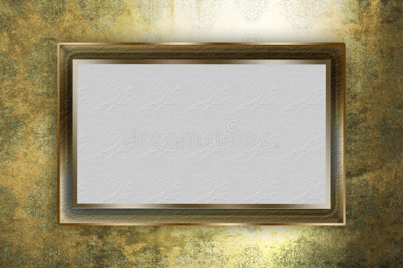 Frame Over Background Royalty Free Stock Photography