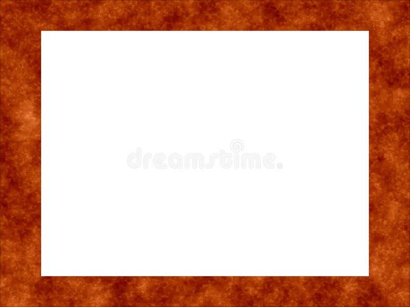 Frame oxidado 7 ilustração stock