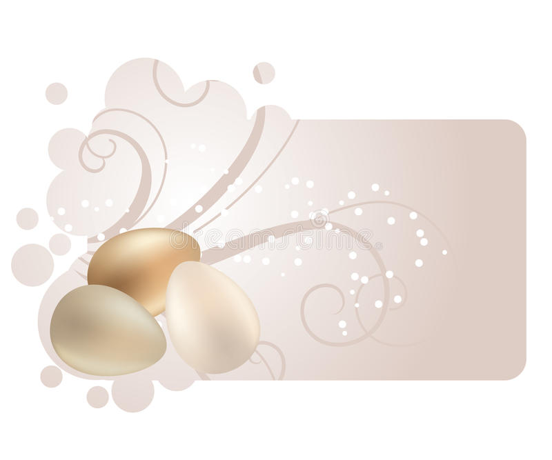 Download Frame With Pastel Easter Eggs Stock Vector - Image: 18435429
