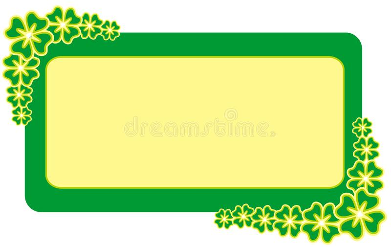 Download Frame for Patrick's  Day stock vector. Image of concept - 1950897