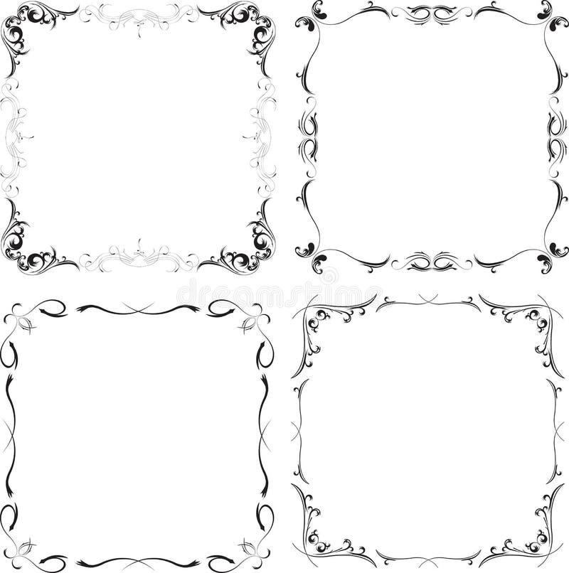 Download Frame patterns stock vector. Illustration of ideas, vintage - 25448408