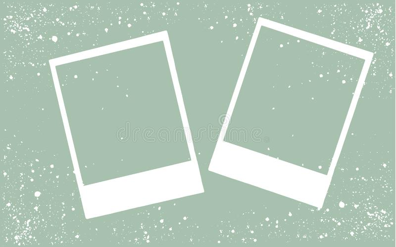 Frame photo border, vector illustration. Frame photo border vector illustration royalty free illustration