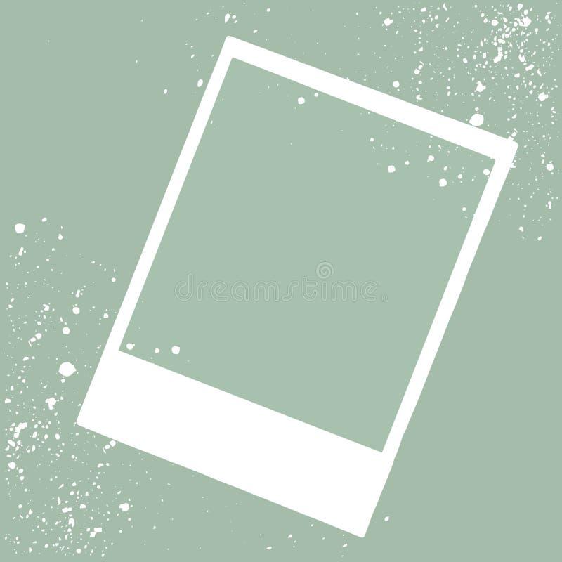 Frame photo border, vector illustration. Frame photo border vector illustration stock illustration