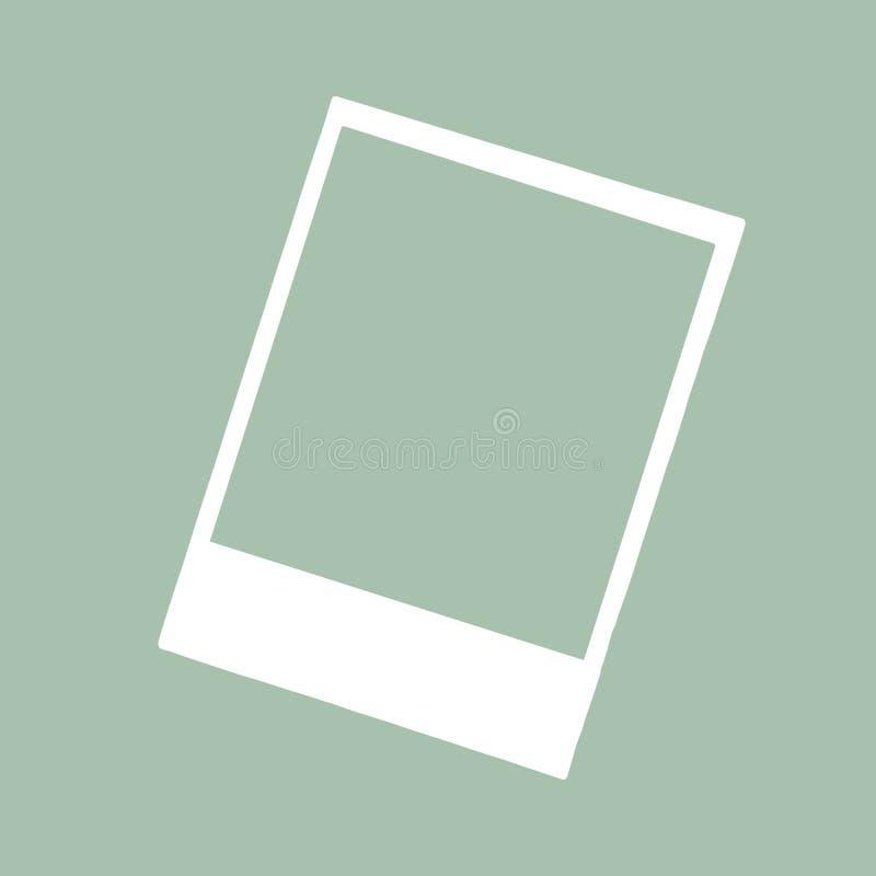Frame photo border vector illustration. Frame photo border, vector illustration stock illustration