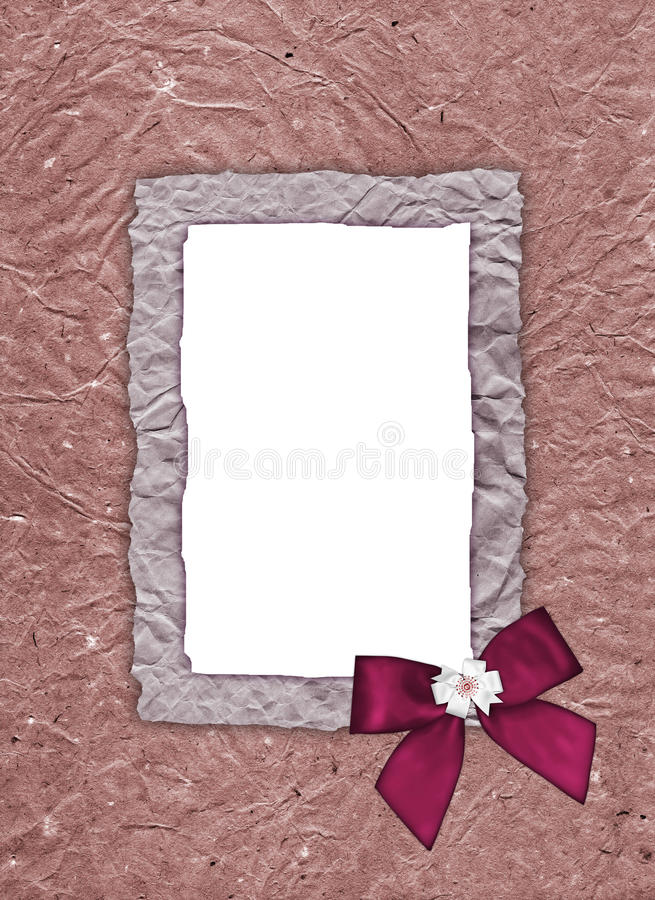 Download Frame for photos of old stock illustration. Image of paper - 12473501