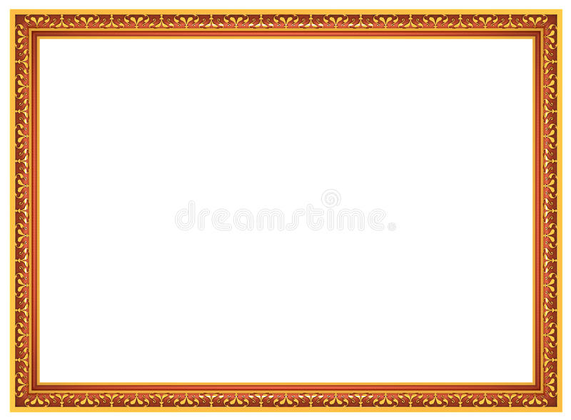 Frame for picture royalty free illustration