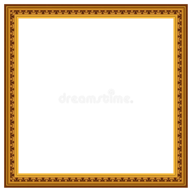 Frame for picture stock illustration
