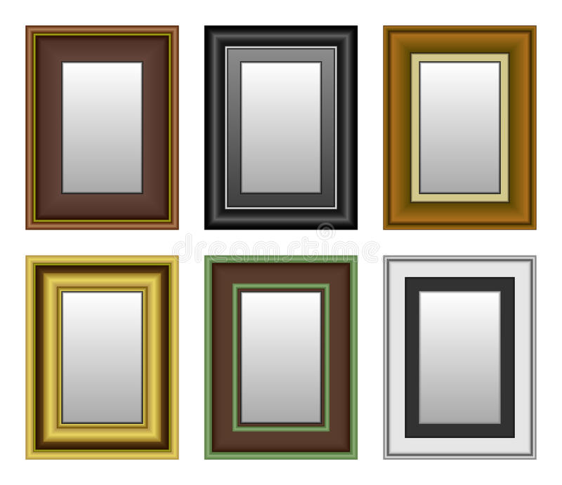Download Frame Picture Photo Mirror stock vector. Image of exhibition - 16681117
