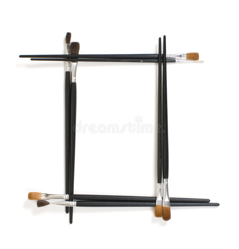 Frame for pictures of the brushes