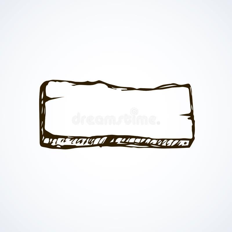 Frame Pointer. Vector Drawing Stock Vector - Illustration of blank ...