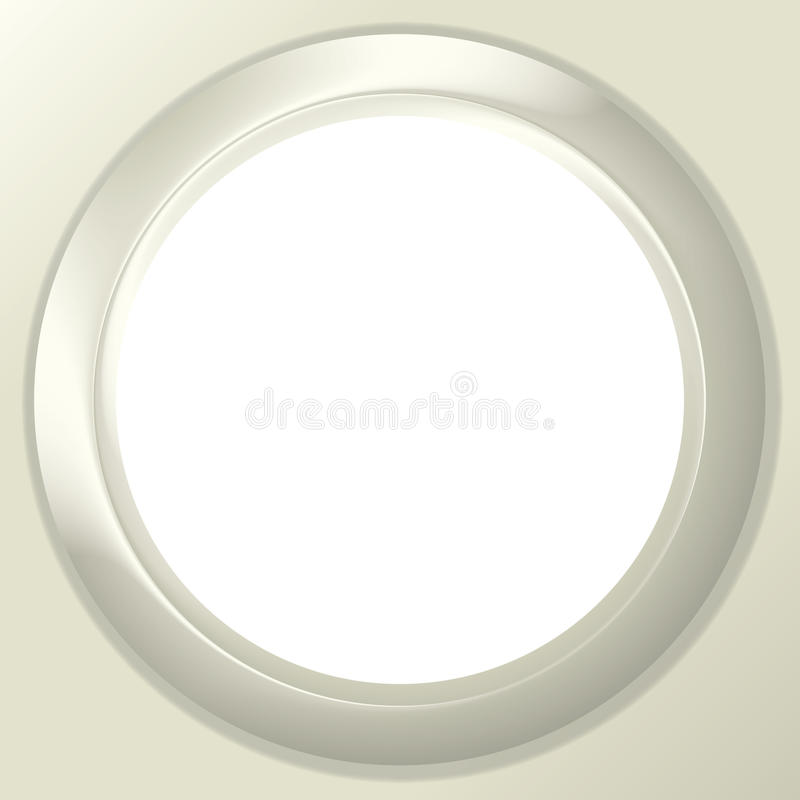 Download Frame Porthole On White Background Stock Vector - Image: 31897585