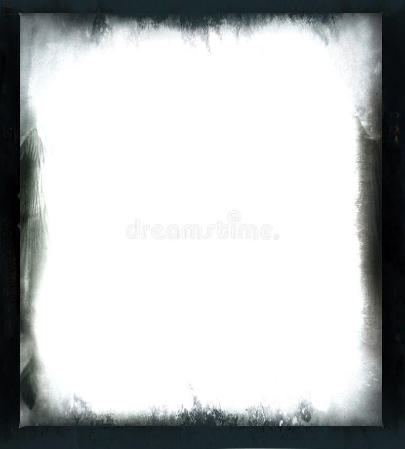 Frame preto do grunge ilustração stock