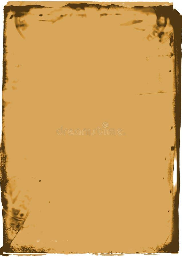 Frame rústico 2 ilustração do vetor