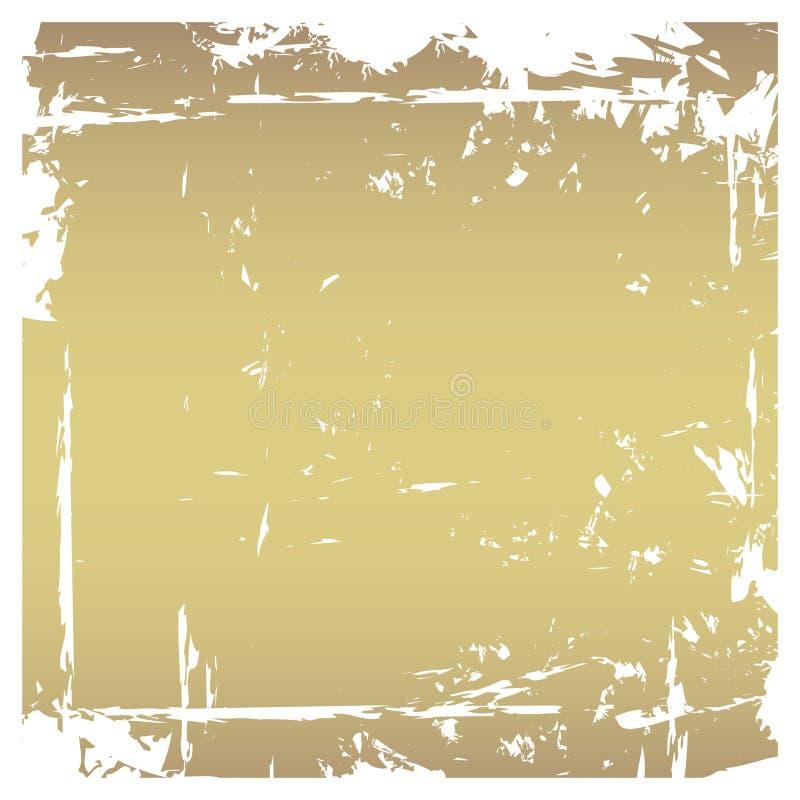 Frame rasgado Grunge ilustração royalty free