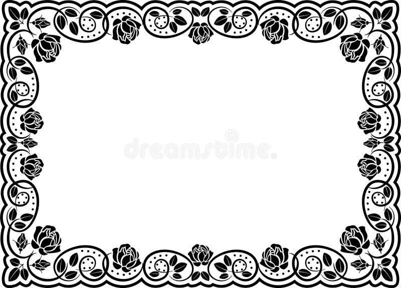 Frame Rozen Royalty-vrije Stock Afbeelding