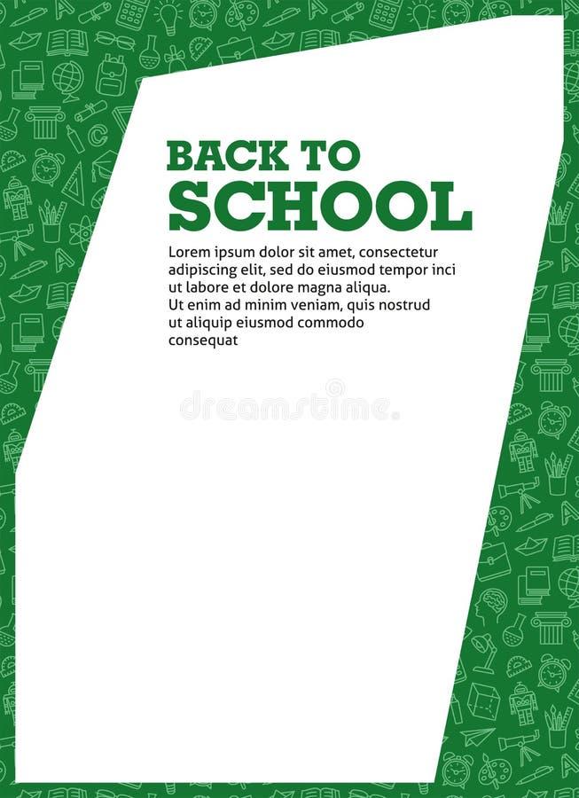 Frame school education stock photography