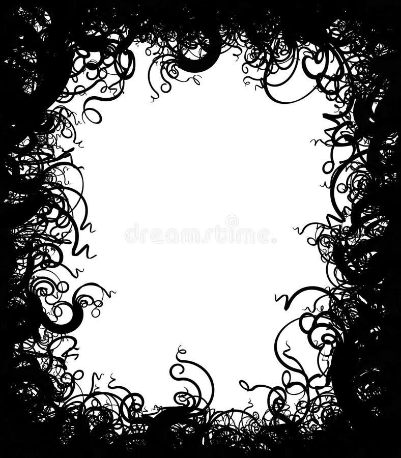 Frame selvagem ilustração royalty free