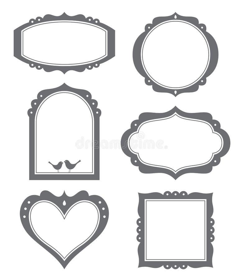 Frame Set stock illustration