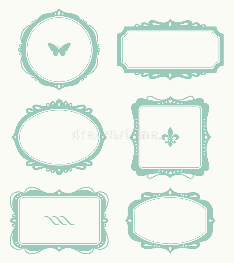 Frame Set stock illustration
