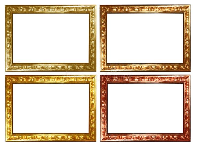 Download Frame set stock illustration. Image of retro, gold, frame - 8489851