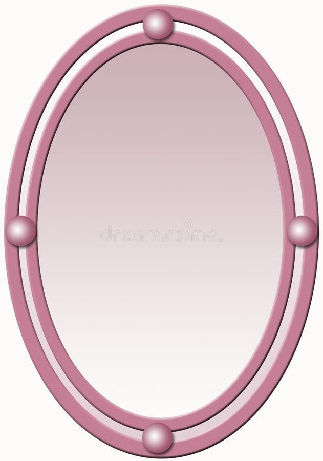 Frame with shiny balls vector illustration