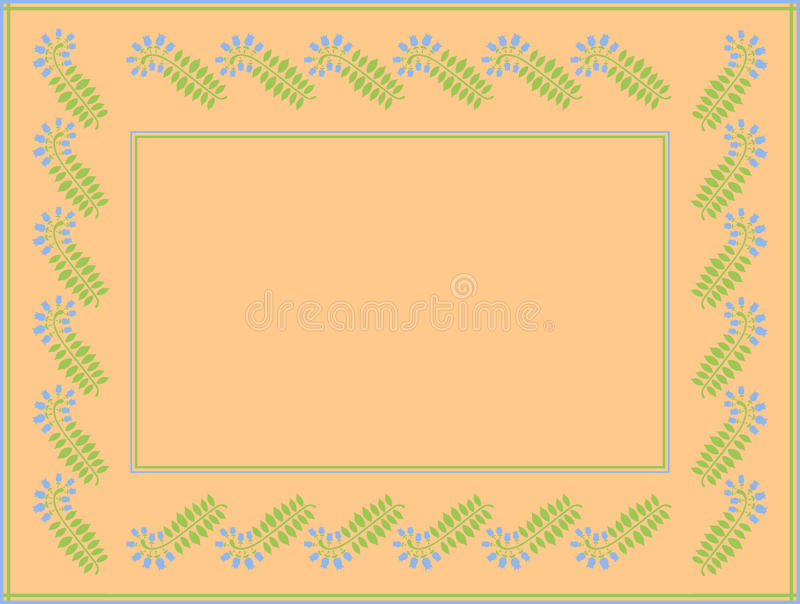 Download Frame With Space For Text Or Photo Stock Vector - Image: 24930241