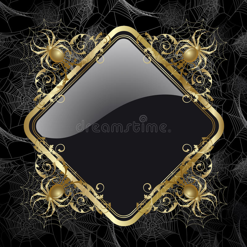 Frame with spider