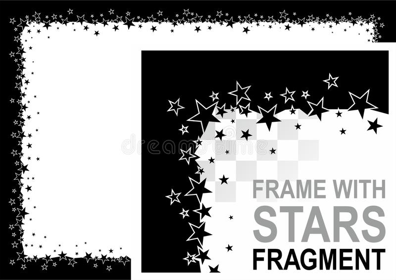Download Frame with stars stock vector. Image of starry, graphic - 20760649