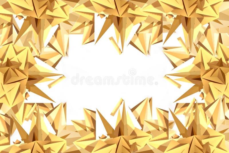 Frame stars stock image