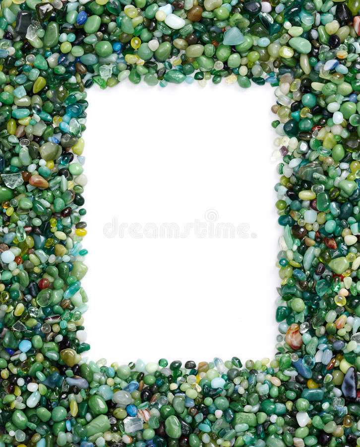 Frame of stones stock photos