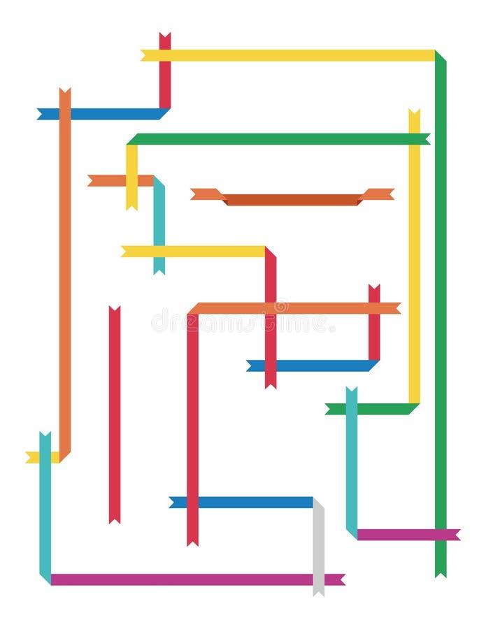 Download Frame stripes stock vector. Image of blank, banner, decoration - 24492192