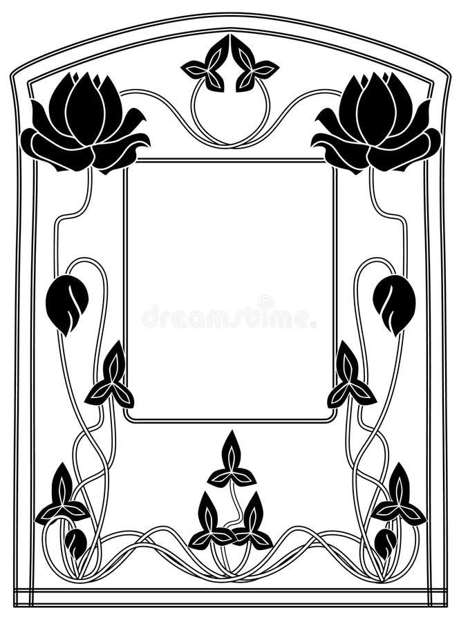 Frame style Modern vector illustration