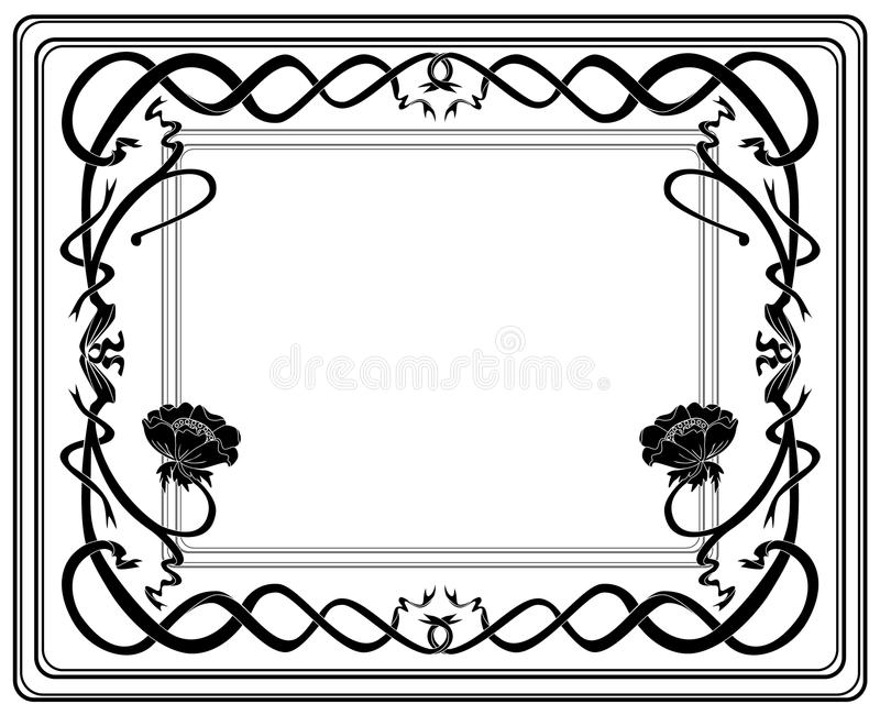 Download Frame style Modern stock illustration. Image of branch - 21355788