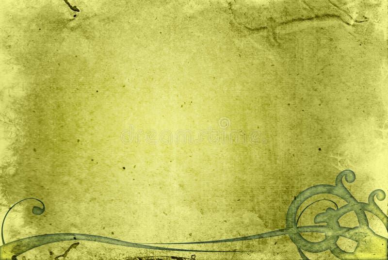 Frame textured altamente detalhado do fundo do grunge ilustração do vetor