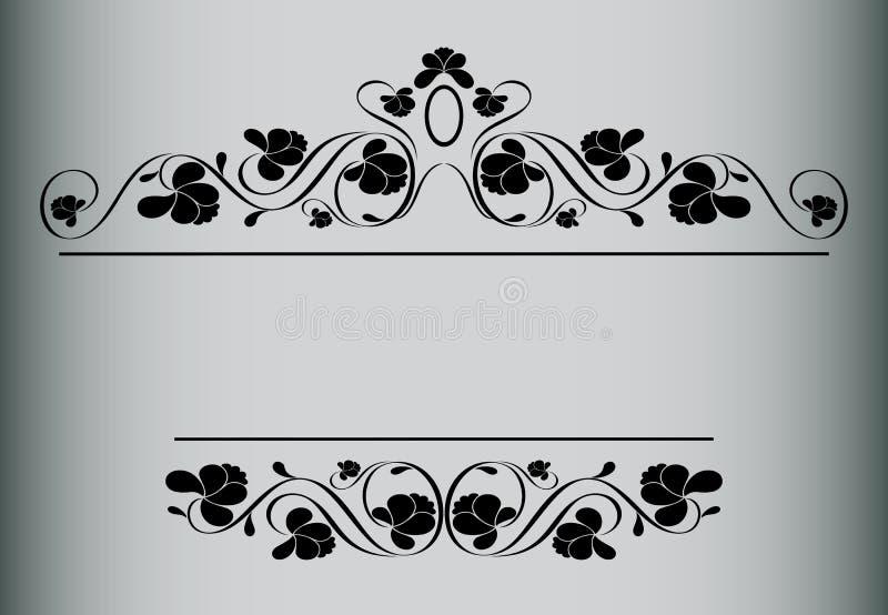 Frame in uitstekende stijl. vector illustratie