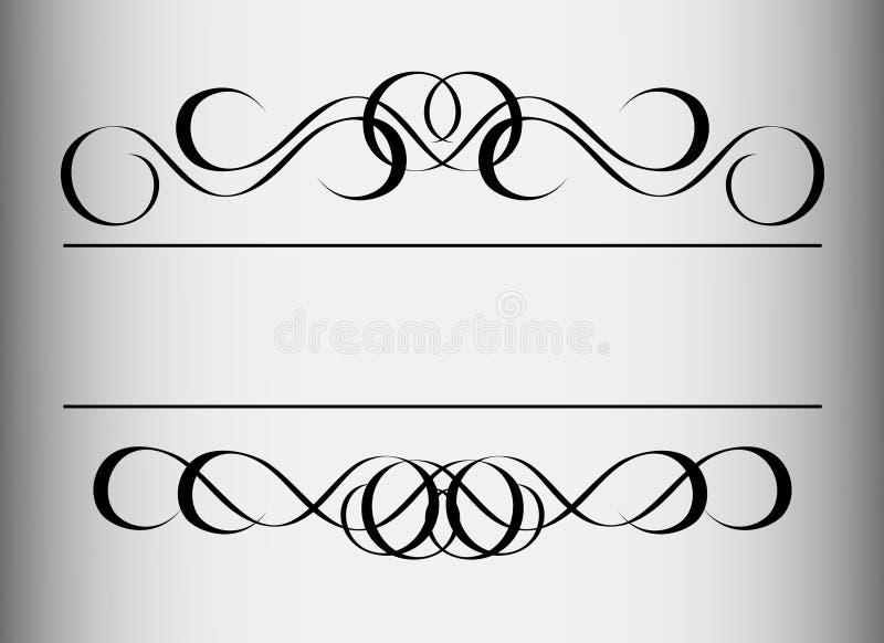 Frame in uitstekende stijl vector illustratie