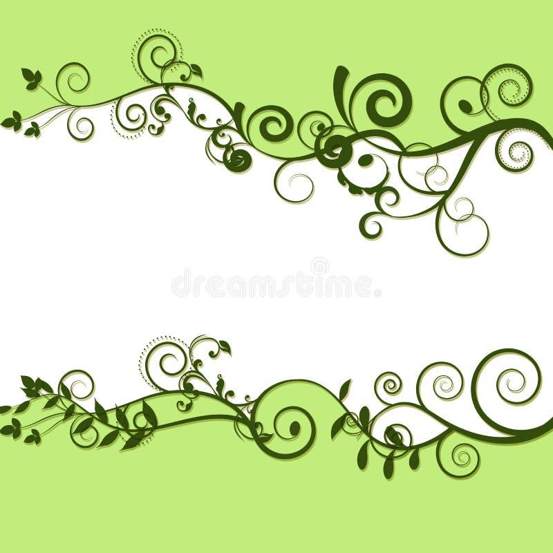Download Frame Van Bladeren En Witte Ruimte Stock Illustratie - Illustratie bestaande uit frame, illustratie: 10782471