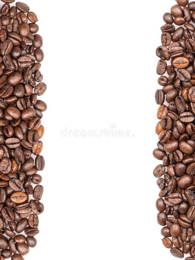 Frame van koffiebonen royalty-vrije stock foto