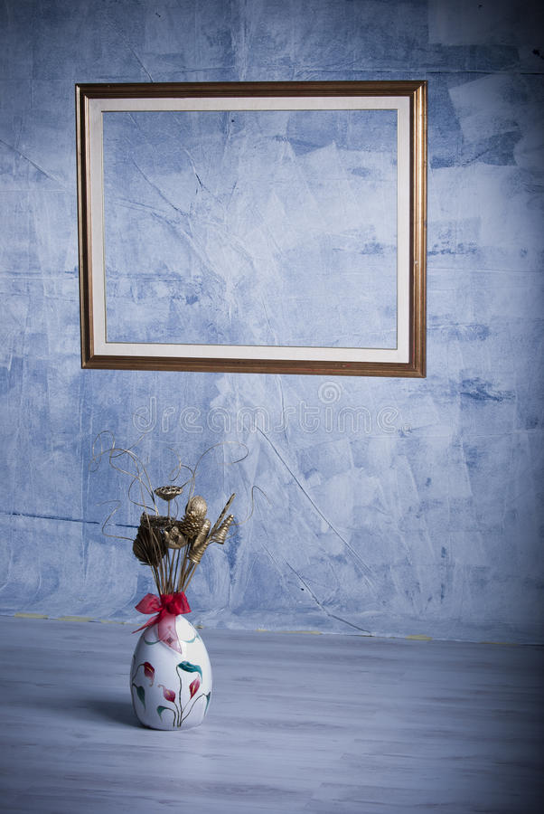 Download The frame and the vase stock image. Image of stylish - 36207333
