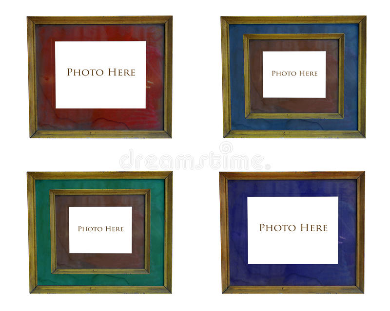 Frame velho da foto fotos de stock royalty free