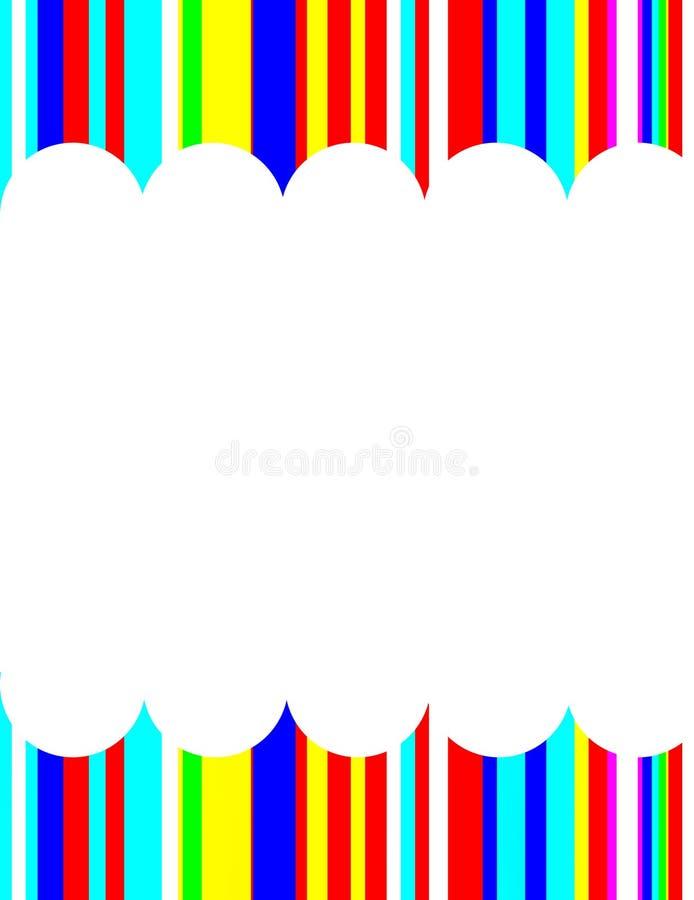 Frame vertical para a foto foto de stock
