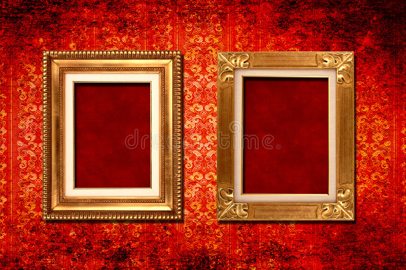 Frame victorian wallpaper stock image. Image of antique - 6502067