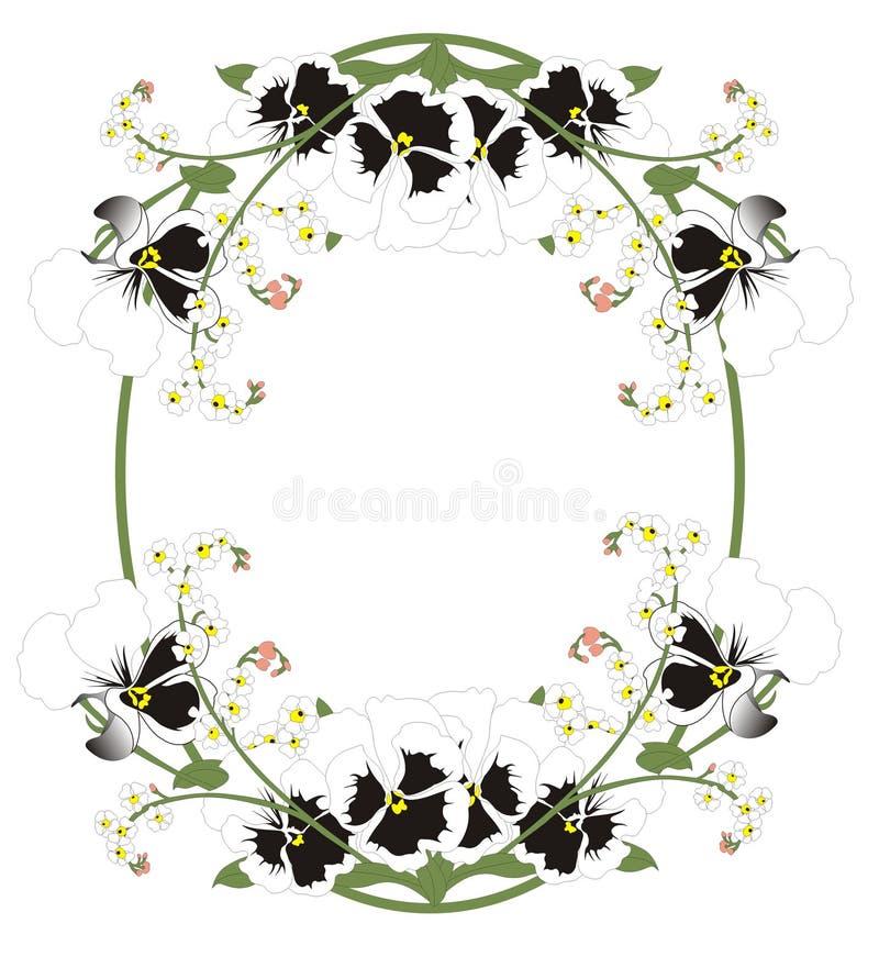 Frame voor beeld vector illustratie