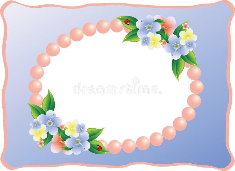 Frame voor beeld of foto stock illustratie