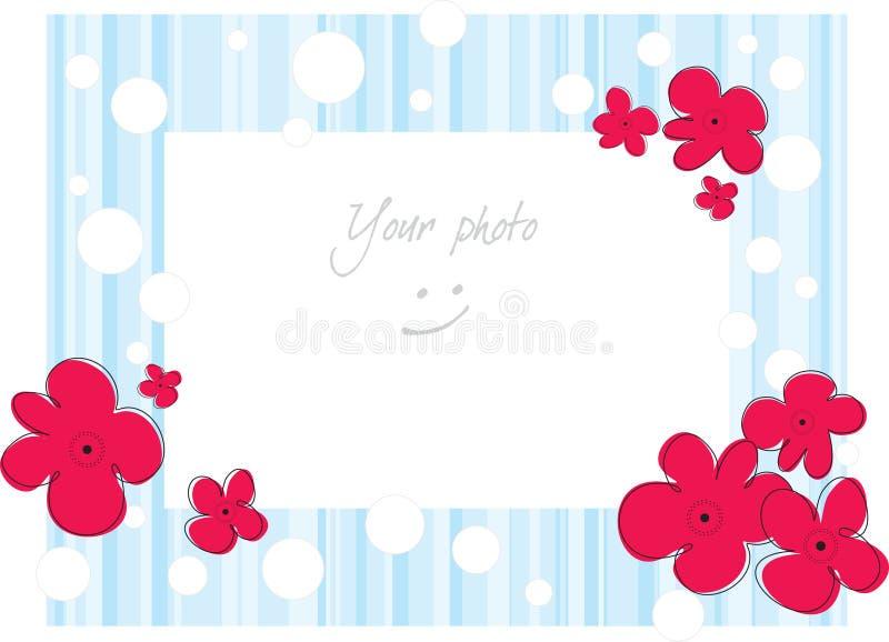 Frame voor foto vector illustratie