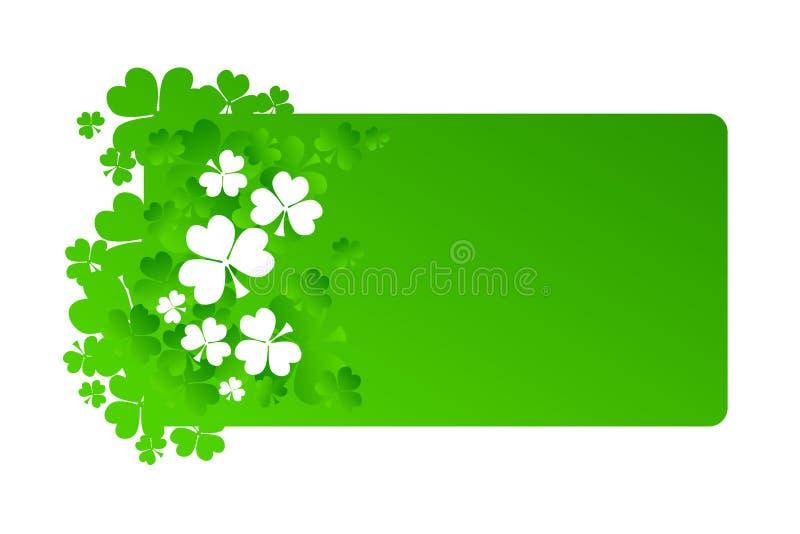 Frame voor St Patrick Dag vector illustratie