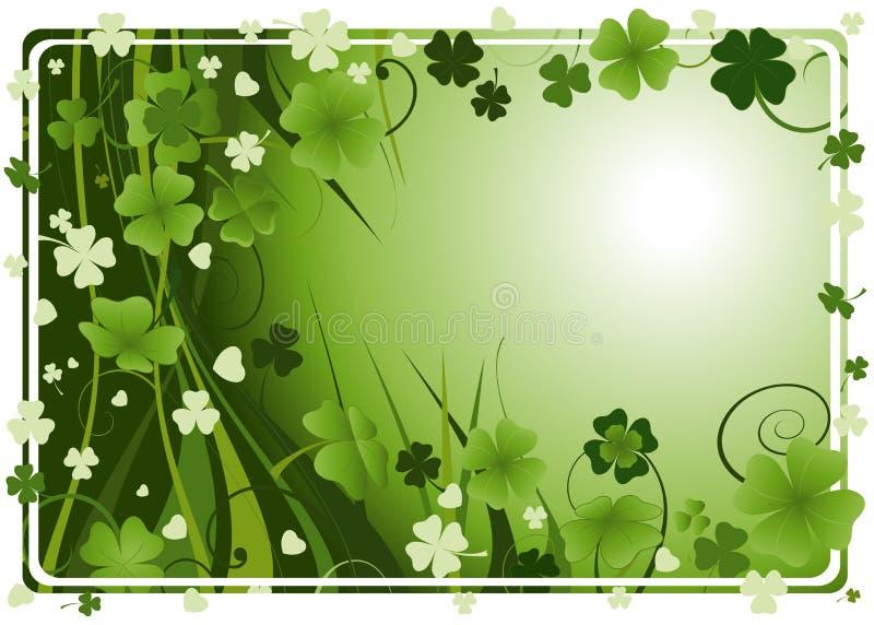 Frame voor St. Patrick Dag vector illustratie