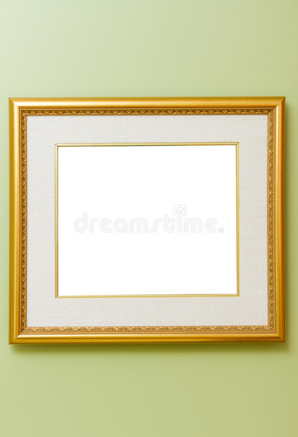 Download Frame on wall stock image. Image of empty, museum, gallery - 18835869